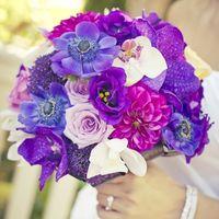 Букет самой красивой невесты с моими любимыми цветами...