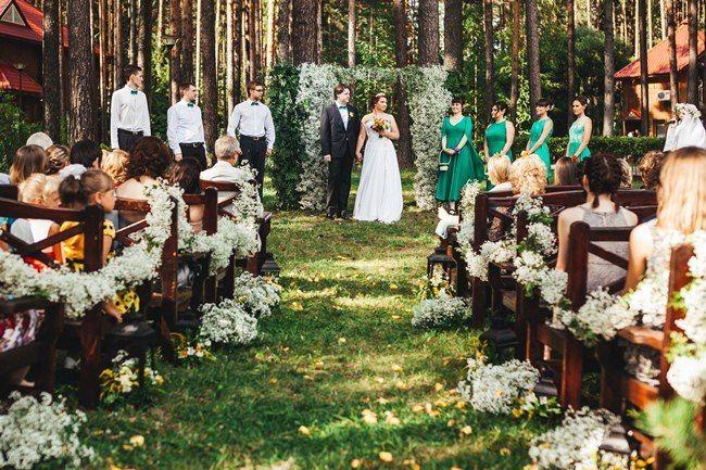 Организация свадьбы в эко-стиле