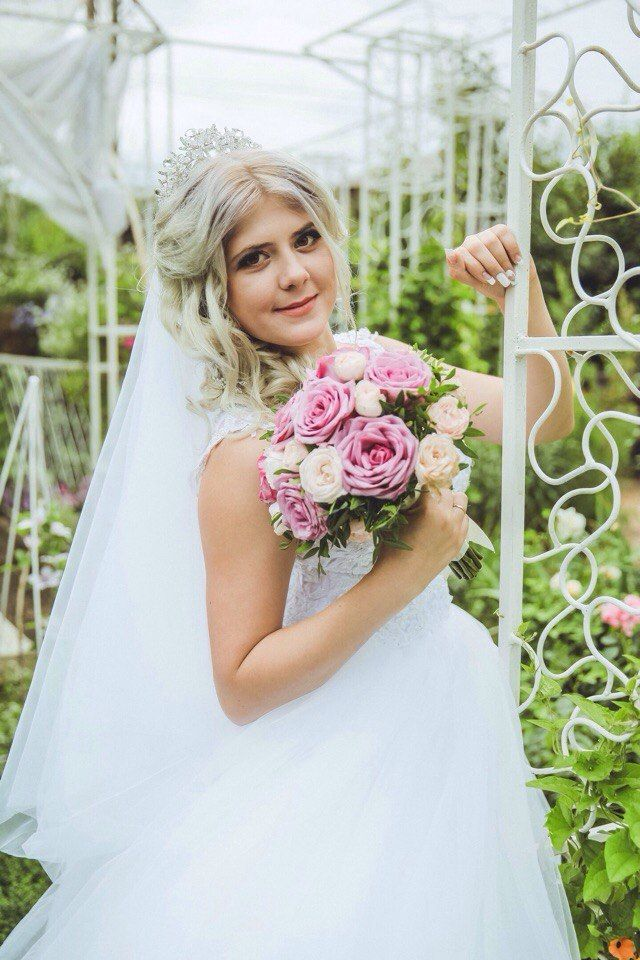 Букет невесты Кристины - фото 17092134 Цветочка - студия флористики