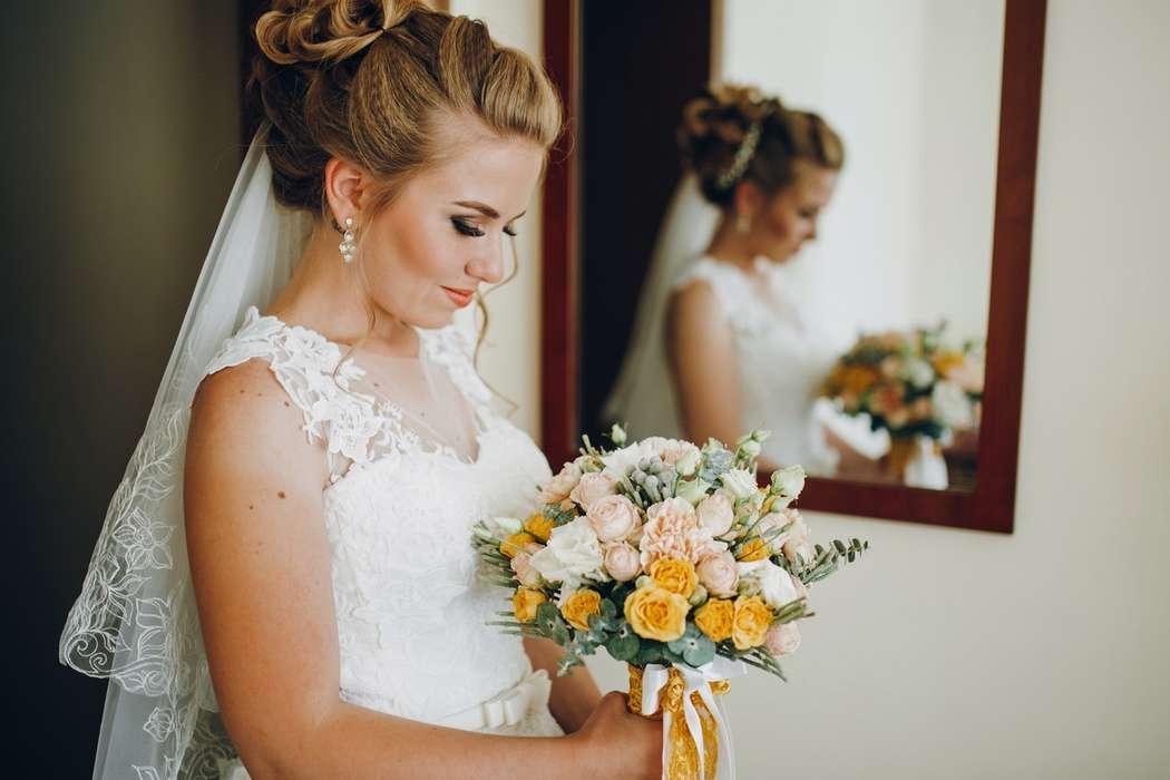 Букет невесты Дарьи - фото 17092166 Цветочка - студия флористики