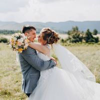 Букет невесты Дарьи