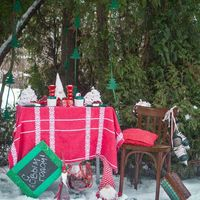 Декорации для зимней фотосессии