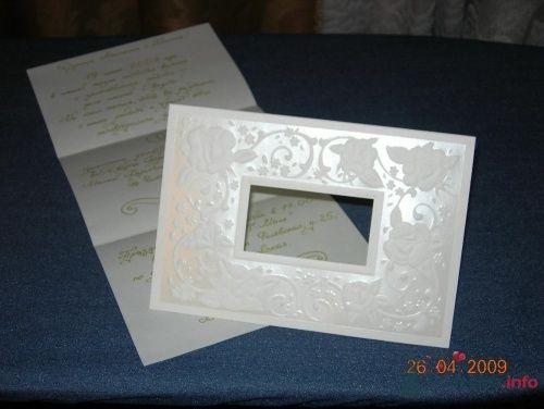 """Так выглядит наше приглашение(покупали в """"Юнита"""", текст сама писала) - фото 19292 Наташулька"""