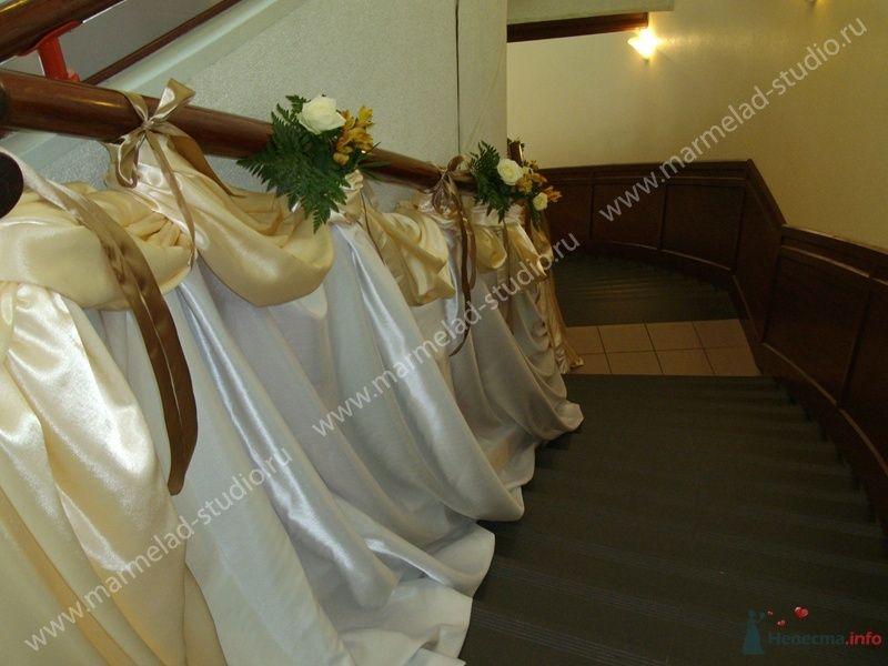 Фото 25800 в коллекции Оформление свадьбы тканями