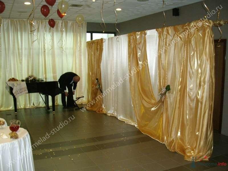 """Фото 25805 в коллекции Оформление свадьбы тканями - Студия праздника """"Мармелад"""""""