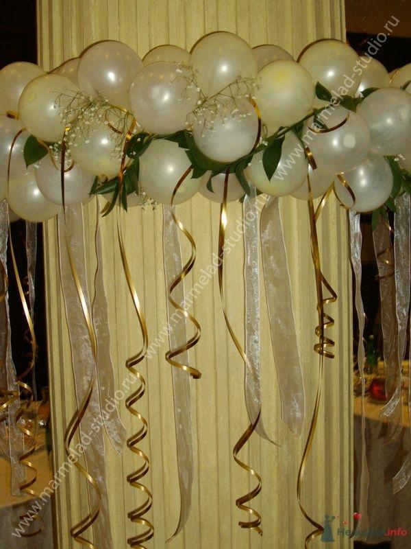 """Фото 26236 в коллекции Оформление свадьбы воздушными шарами - Студия праздника """"Мармелад"""""""