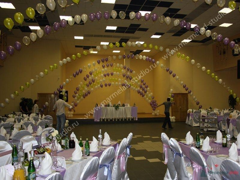 """Фото 26269 в коллекции Оформление свадьбы воздушными шарами - Студия праздника """"Мармелад"""""""