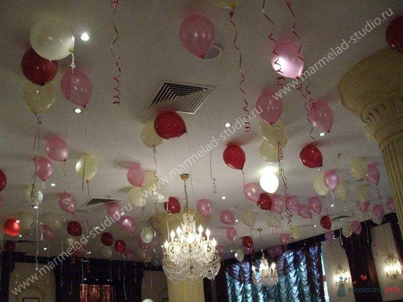 Фото 26283 в коллекции Оформление свадьбы воздушными шарами