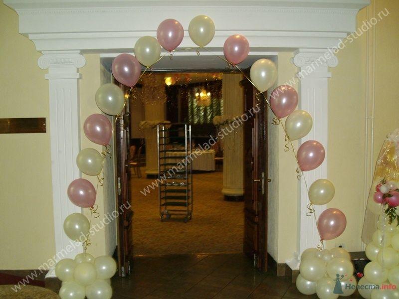 Фото 26293 в коллекции Оформление свадьбы воздушными шарами