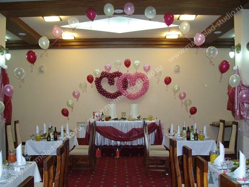 Фото 26325 в коллекции Оформление свадьбы воздушными шарами