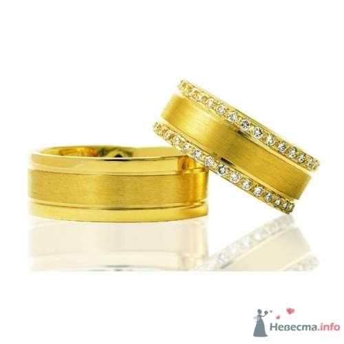 Обручальные кольца  Артикул 1007 - фото 12512 Ювелирный интернет-магазин Rings