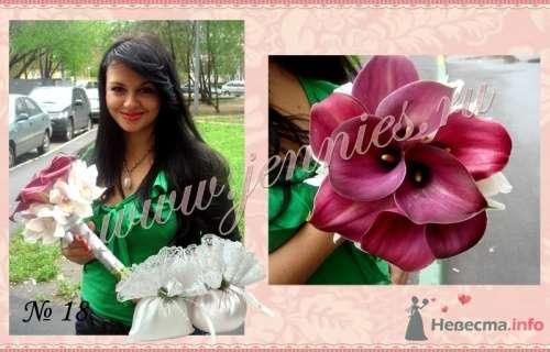 """Букет невесты из калл - фото 12852 Флористическая студия """"Jennies"""""""