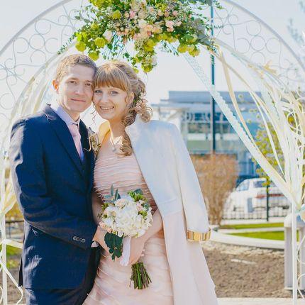 Букет для невесты в стиле рустик