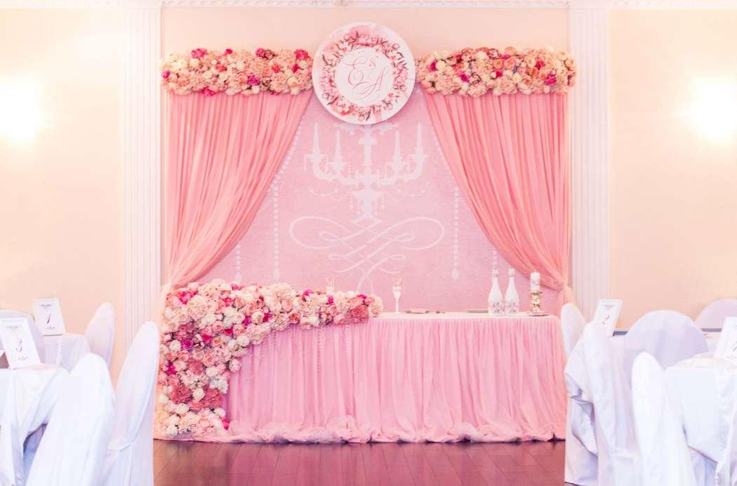 Оформление для прекрасной пары Алины и Евгения - фото 16625406 Виктория Косенко - флористика и декор
