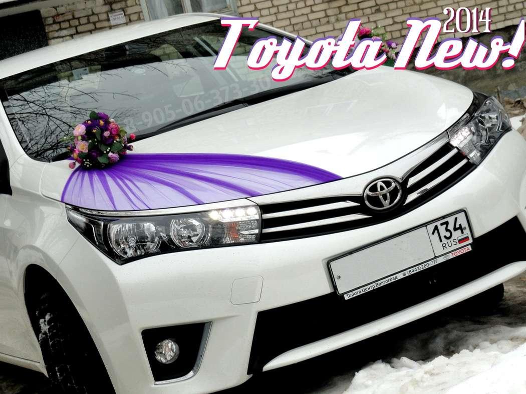 Свадебный кортеж Toyota Corolla NEW-2014, украшения на свадебные машины по лучшей цене в Волгограде! - фото 1904059 Свадебный кортеж Волгоград