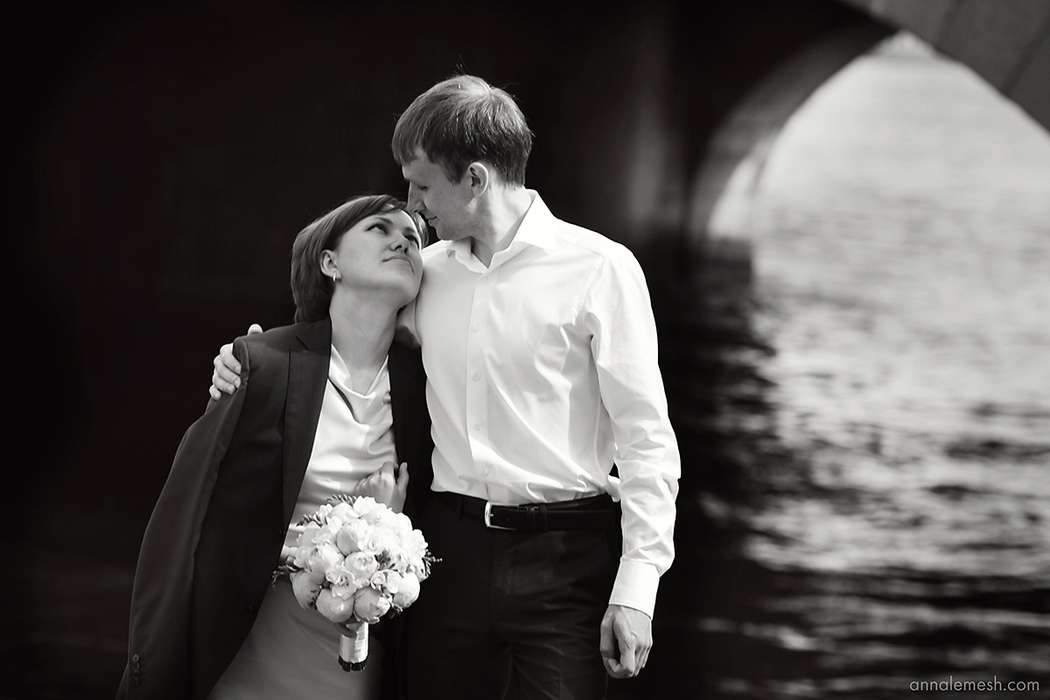Маша и Сергей. Небольшая свадьба на берегах Невы - фото 2479399 Фотограф Анна Лемеш