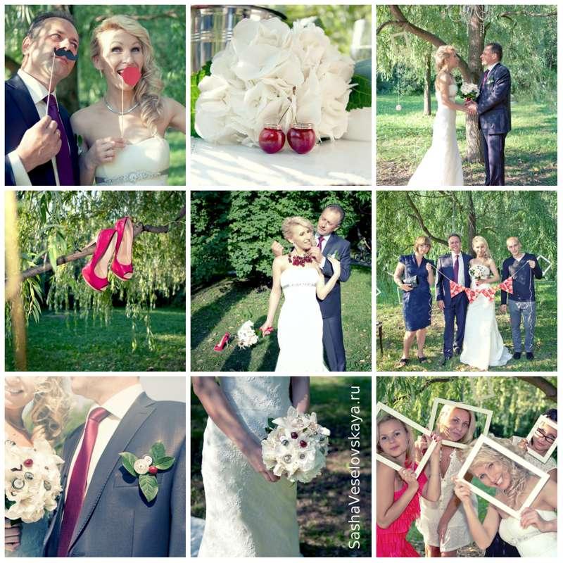 Свадьба летом своими руками