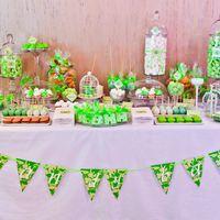 Candy bar для важного события. Сладости ручной работы, оформленные в цвете и стиле торжества.