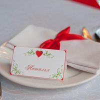 клубничная свадьба карточка рассадки