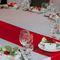 клубничная свадьба декор салфетки роза карточка рассадки