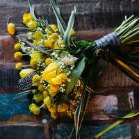 желтая черная свадьба выездная регистрация