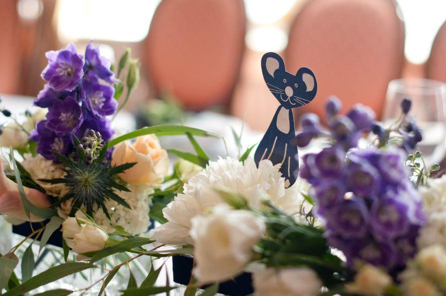 """кошки мышки синяя фиолетовая персиковая свадьба - фото 6443086 Студия флористики и декора """"Глориоза"""""""