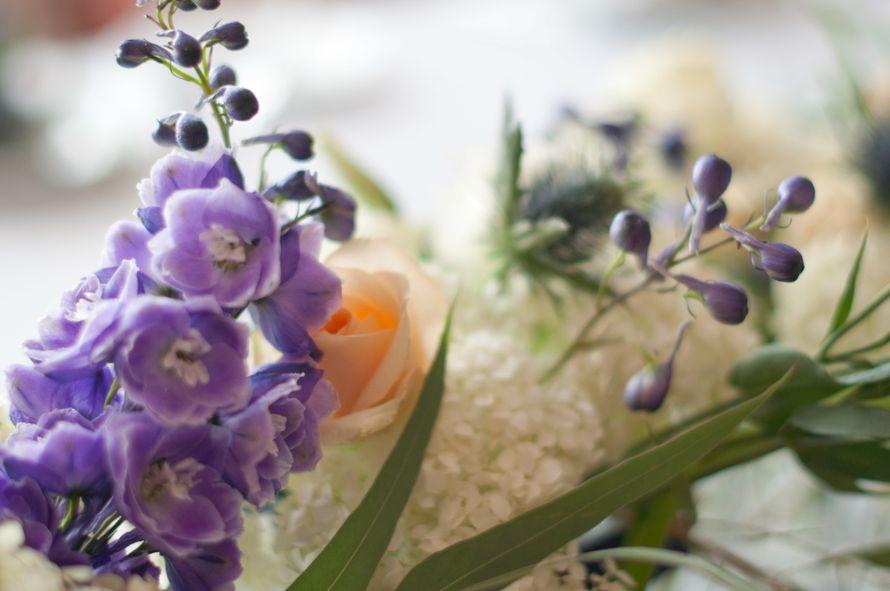 """синяя фиолетовая персиковая свадьба - фото 6443098 Студия флористики и декора """"Глориоза"""""""