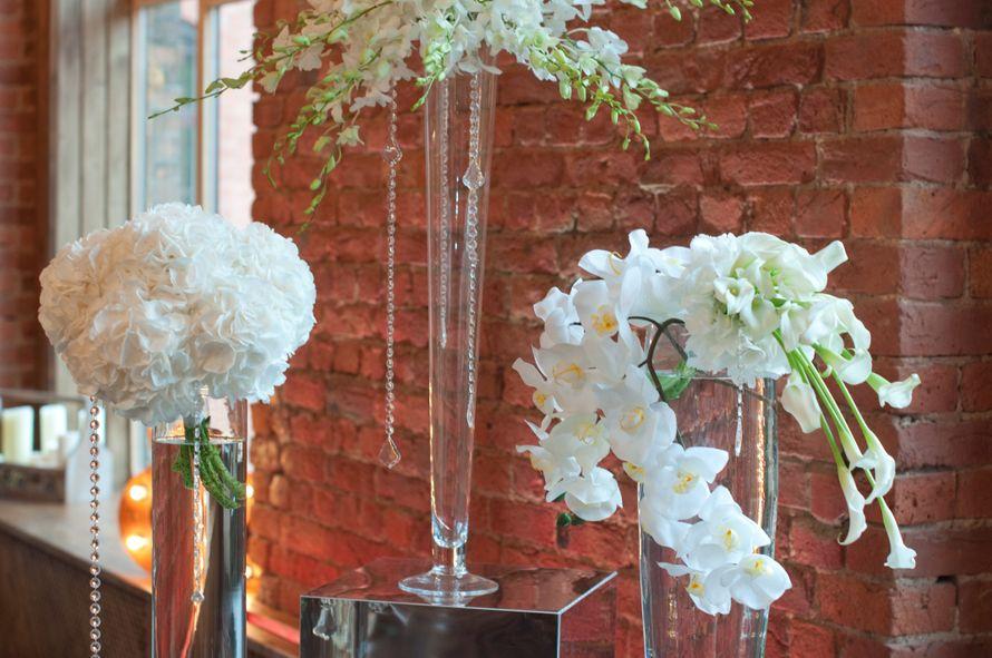 """лофт весенний белая свадьба выездная регистрация - фото 6763984 Студия флористики и декора """"Глориоза"""""""