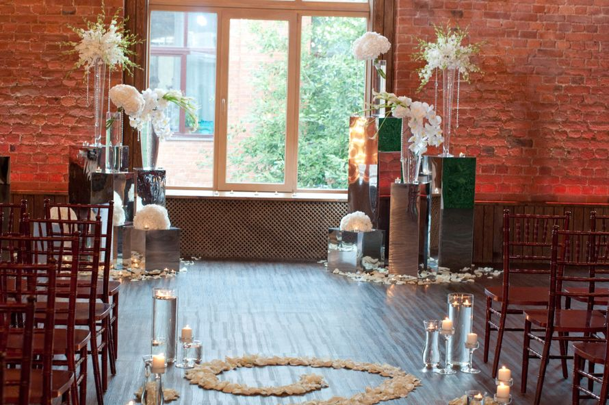 """лофт весенний белая свадьба выездная регистрация - фото 6764002 Студия флористики и декора """"Глориоза"""""""