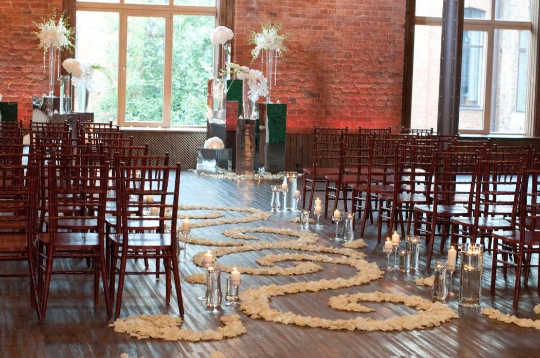 """лофт весенний белая свадьба выездная регистрация - фото 6764006 Студия флористики и декора """"Глориоза"""""""