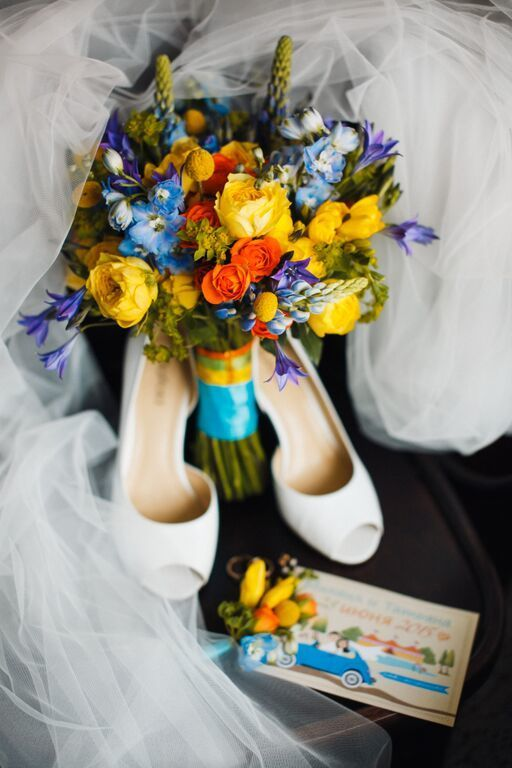 """Летний букет невесты - фото 8222702 Студия флористики и декора """"Глориоза"""""""