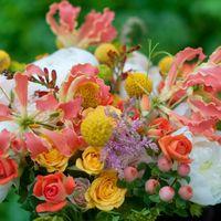 букет невесты с глориозой