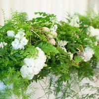 натуральная зеленая свадьба