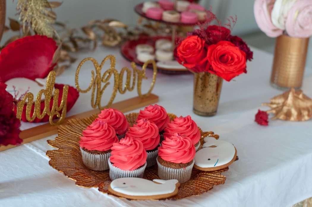 "candy bar red pink - фото 15795542 Студия флористики и декора ""Глориоза"""
