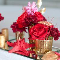 красная морская свадьба