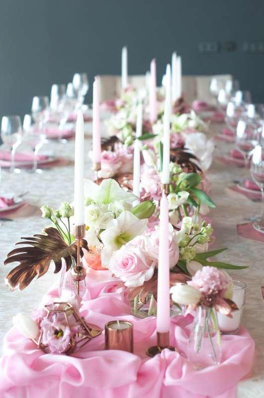 "свадьба в медном и розовом цвете - фото 17437378 Студия флористики и декора ""Глориоза"""
