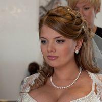 Невеста Алевтина,использованы натур.пряди