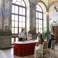 Организация свадьбы около Рима с фотосессией в Риме