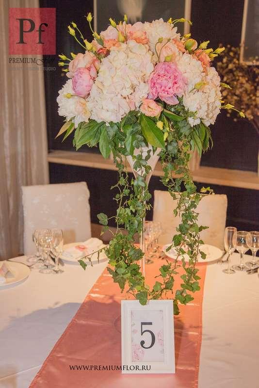 Композиция в вазе мартини - фото 3868195 Premiumflor - декор и флористика