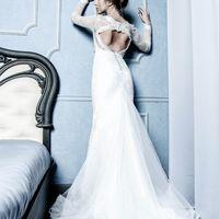 Свадебное платье L-004 Цвет - белый Цена 38000руб