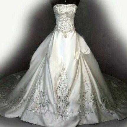 Свадебное платье А460
