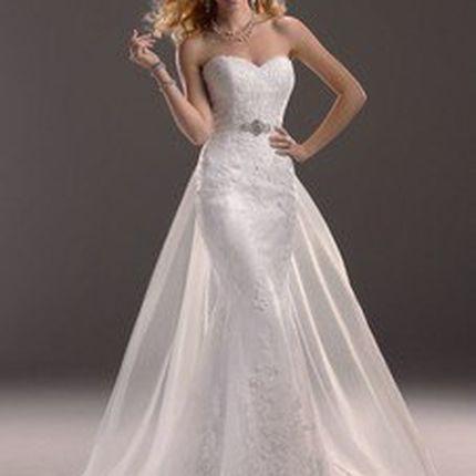 Нежное свадебное платье А678