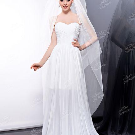 Свадебная фата To be bride А698