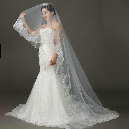 Свадебная фата  мод. А724