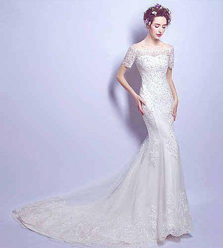 Свадебное платье - модель А854 в аренду