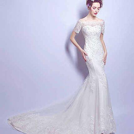 Свадебное платье - модель А854