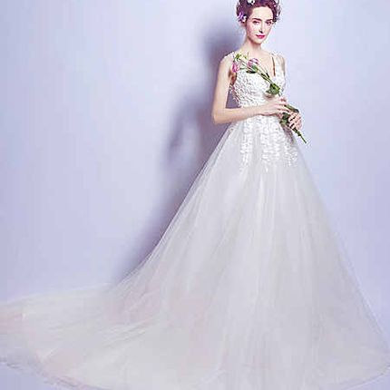 Свадебное платье - модель А857