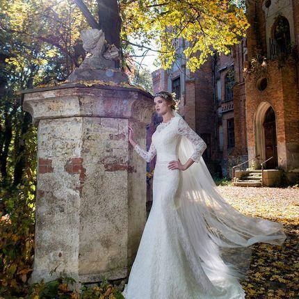 Свадебное платье - модель А887 в аренду