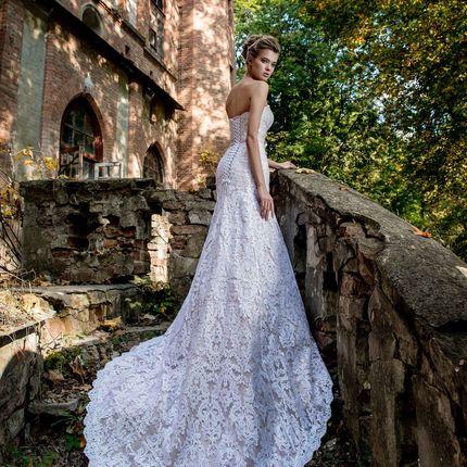 Свадебное платье - модель А910 в аренду