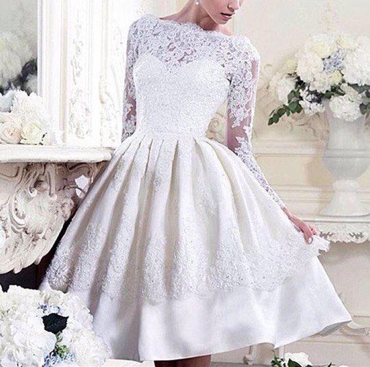 Короткое свадебное платье, арт. А1087